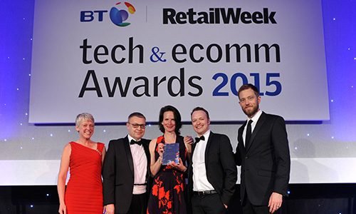 Ask The Expert wins Best Customer Experience at Tech&Ecomm Awards 2015