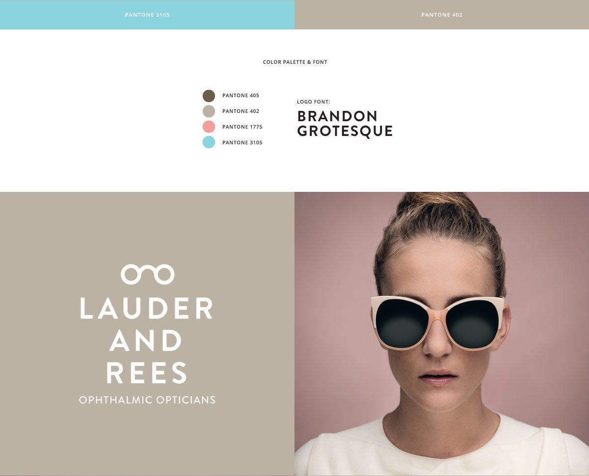 Lauder and Rees Brand Identity