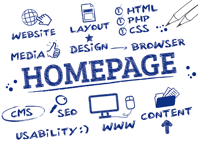 How to Make an Efficient Homepage
